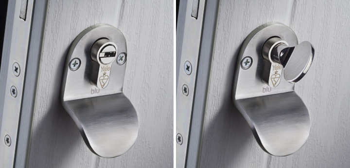 Internal pull escutcheon and pull escutcheon with thumbturn & Our-Doors/Hardware/Contemporary